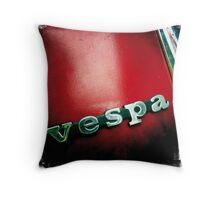 Classic Vespa Throw Pillow