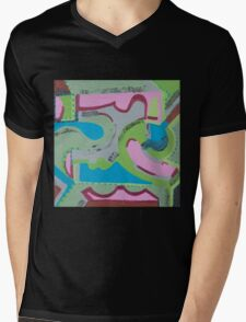 Ye' Ol' Swimming Hole Mens V-Neck T-Shirt