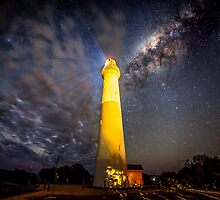 Split Point Lighthouse Aireys Inlet by Russell Charters