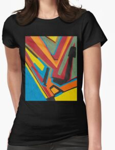 Oh for the Love of Texture Womens Fitted T-Shirt