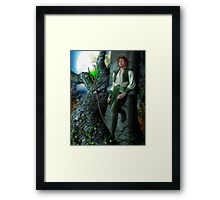 Getting Away From It All Framed Print