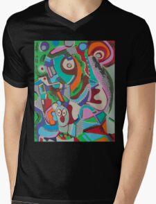 Monkey Jungle Mens V-Neck T-Shirt