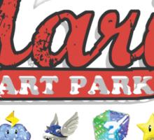 Mario's Go Kart Park Sticker