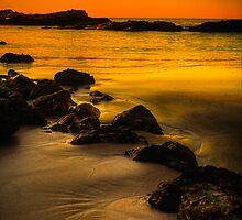 Main Beach at sunset, Robe by Elana Bailey