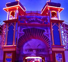 Luna Park... by Night by LJ_©BlaKbird Photography