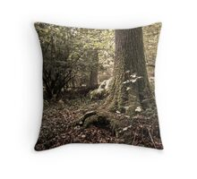 Woodland Mystery  Throw Pillow