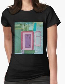 Interior Panel at CIA Womens Fitted T-Shirt