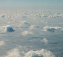 Dream Clouds Across the Sea Sticker
