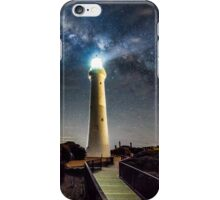 Split Point Lighthouse Beams iPhone Case/Skin