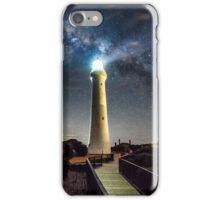 Split Point Lighthouse Beams iPhone Case/Skin