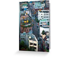 A Street in Daegu Greeting Card