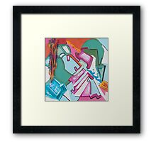 The Tale of the Yarn Framed Print