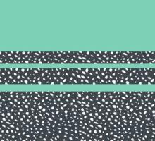 Lucite Green Dots Sticker