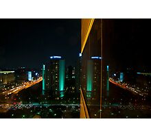 Seoul Reflection Photographic Print