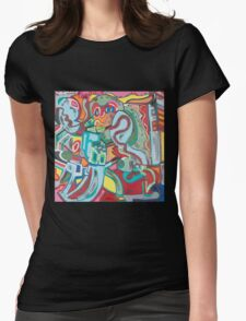 The Eyes Have It Womens Fitted T-Shirt