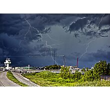 Storm near New Orleans Photographic Print