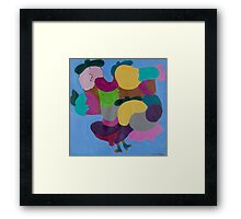 Friendly Muses! Framed Print