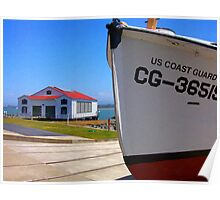 Coast Guard Station Poster