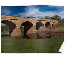 Heritage listed Richmond Bridge Poster