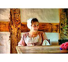 Farm Girl Photographic Print