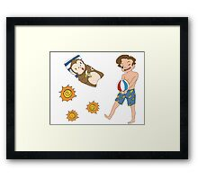 Sunshine Ash Framed Print