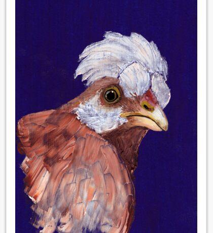 Feathered Friend Sticker
