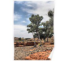 Umberumberka Creek - Silverton NSW Poster