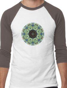 Green Pots Men's Baseball ¾ T-Shirt