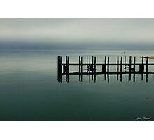 Misty Morning, Monkey Mia, Western Australia Photographic Print