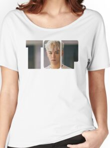 BIGBANG T.O.P MADE Series Typography Women's Relaxed Fit T-Shirt