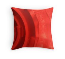 Ultra red Throw Pillow