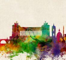 Rome Italy Skyline Sticker