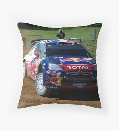 Sebastien Loeb Rally Australia Throw Pillow