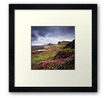 The Trotternish Ridge Framed Print