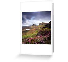 The Trotternish Ridge Greeting Card