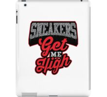 Sneakers Get Me High Cement iPad Case/Skin