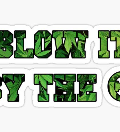 Kappa Alpha Theta Blow It By the O Sticker