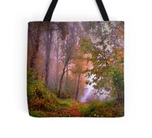 Fog On The Willamette River Tote Bag