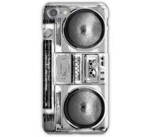 Old School Boom Box iPhone Case/Skin