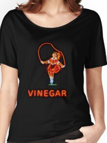 Skipping Girl Women's Relaxed Fit T-Shirt
