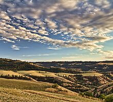 The hills of Lenore by Mike  Kinney