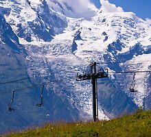 Tour de Mont Blanc, Chamonix by David  Curtis