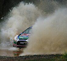 Mikko Hirvonen Rally Australia by Elmacca