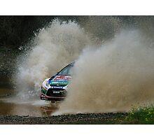 Mikko Hirvonen Rally Australia Photographic Print