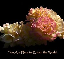Enrich The World by artisandelimage