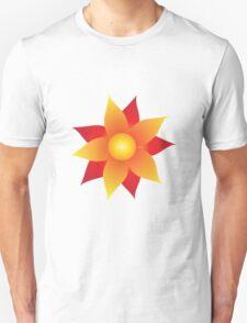 Firery Pinwheel Unisex T-Shirt