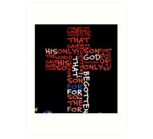 For God So Loved The World Art Print