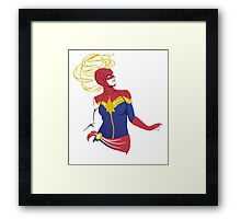 Oh Captain my Captain Framed Print