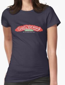 Snozberry Smoothies Womens Fitted T-Shirt