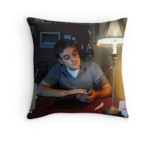 Dining Out Throw Pillow